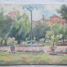Painting Antique Painting To Watercolour landscape Spring View Dei Gardens p9