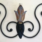 Wall Wrought Iron Vintage Made by Hand For Master Locksmith Liguria