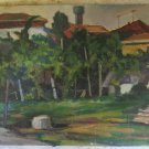 View Of Brogo Antique Painting oil On Board Widescreen Warranty p12