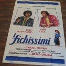 Poster Camera Crew Original Poster Film The Sudsy Vanzina 1981
