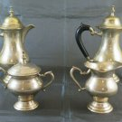 Service For Coffee 'Tea' IN Metal silver plated 4 Piece Antique Coffee PS12