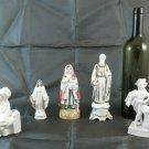 5 Figurines Porcelain of Various Genre And Theme Vintage Figurine BM9