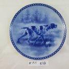 Plate IN Ceramic Tove Svendsen Hundeplatte Deutsch Stickelhaar Denmark R77