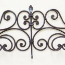 Coat Hangers Hanger Wrought Iron Wall Vintage Design Entrance Ch