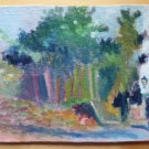 Old Painting oil Opera Painter Spanish Of 900 landscape Spain MD1