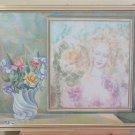 Large Painting Vintage Symbolist Of Painter Gaetano Pancaldi of Modena