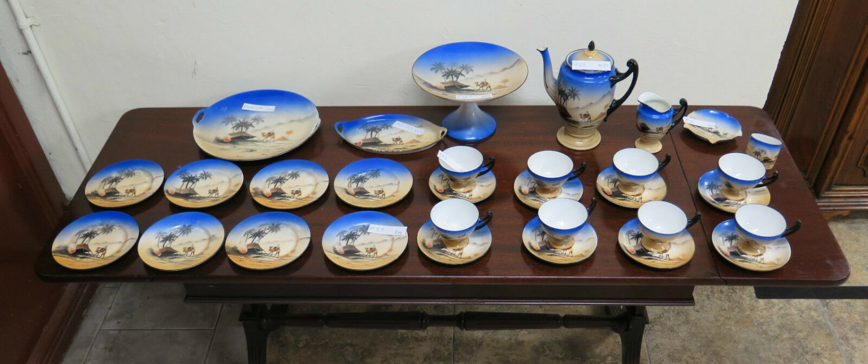 Wonderful Service For Board Tea Coffee IN Ceramic Epiag Royal Czechoslovakia R74