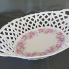 Porcelain Vintage Bowl Trays Centerpieces Decorated with Flowers R120
