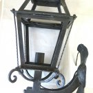 Post Old Wrought Iron Forged Hand Lantern Vintage Chandelier Ch