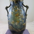 Antique Vase IN Ceramic Art Nouveau Liberty Slip Slips Floral R11