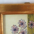 Frame For Paintings Or Photo 5 1/2x7 7/8in IN Wood Vintage With engraving Free
