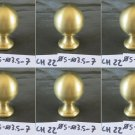 6 Handles Frieze A Knob Brass Invoice Artisan Mortise H 2 13/16in CH22