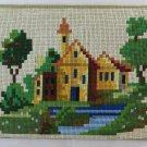 Old Embroidery Sampler Needlepoint Hemp For Sampler Cross Stitch X3