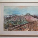 Landscape Countryside With Vine And Gay & Lesbian Fabric of Life Painting To oil