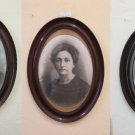 16 1/8x22 3/8in Three Frames For Paintings Oval Wooden Frame Oval Painting X14