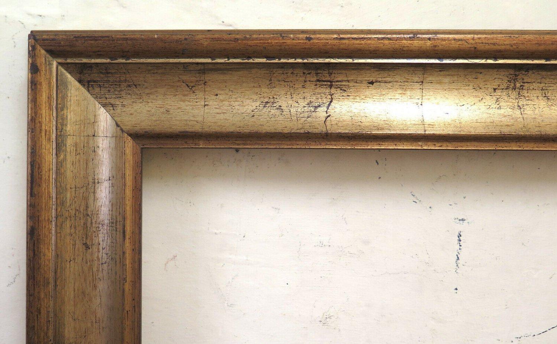 33 1/8x29 1/8in Frame Golden Vintage For Painting Wooden Golden BM52