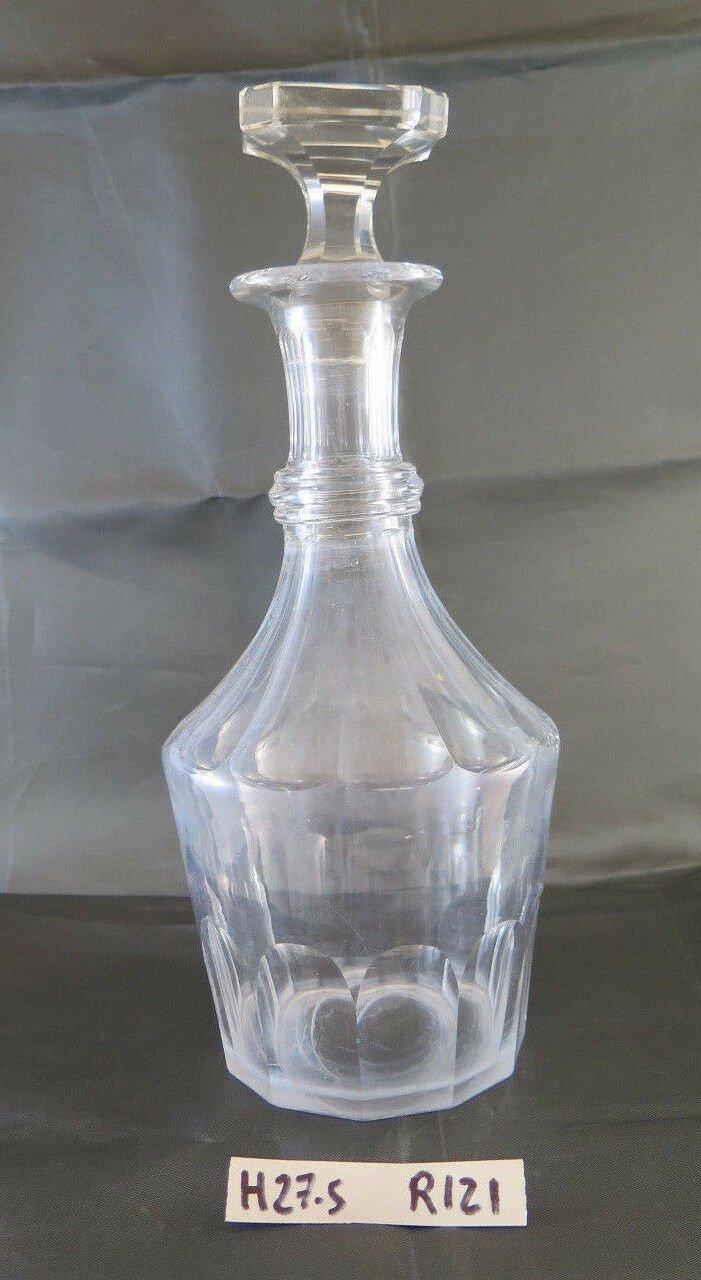 Bottle For Liquor Of Glass Art Deco' Collectibles Denmark Design R121