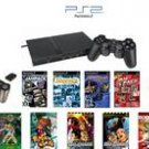 "Slim Sony Playstation 2 ""Basic Bundle"" - 30+ Games with Wireless Controller and more"