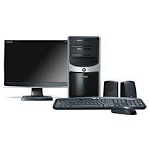 "eMachines W5243 Desktop PC w/ 17"" Widescreen LCD Monitor"