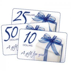 $ 15.00 E- Gift Card