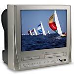 "Magnavox 20"" Flat-Tube TV/DVD/VCR Combo w/ Digital Tuner, CT202MW8"