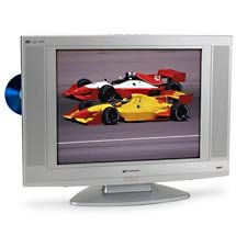 """Emerson 20"""" LCD TV w/ DVD Player and Digital Tuner, LD200EM8"""