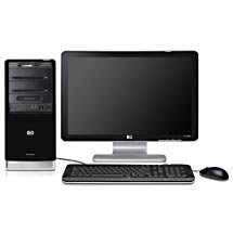 HP Pavilion a6303w-b Desktop PC w/ 20.1 Widescreen LCD Monitor