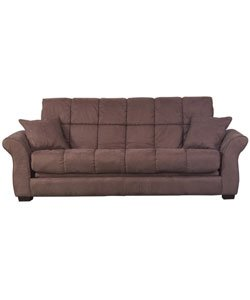 Hollywood Jazz Chocolate Brown Futon Sofa Bed