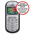 TRACFONE Motorola C139-4 Prepaid Cellular Phone w/ Bonus Double Minutes For Life