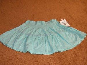 Girls pleated Roxy blue skirt bottoms size 8