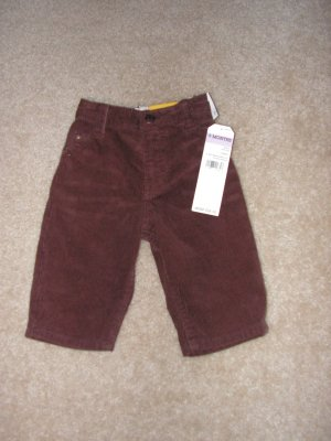 Boys infants  Oshkosh brown curduroy pants sz 9 months