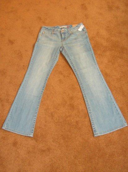 Women's Junior Aeropostale flare jeans/denim SZ 3/4 NWT