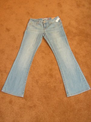 Women's Junior Aeropostale flare jeans/denim SZ 3/4 NWT