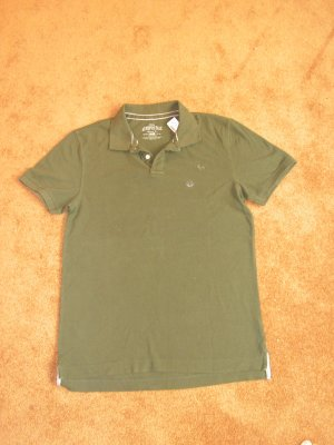 Men's Aeropostale Green Polo shirt SZ L short sleeve NWT