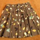 Girl's flower pleated skirt size 14 NWT