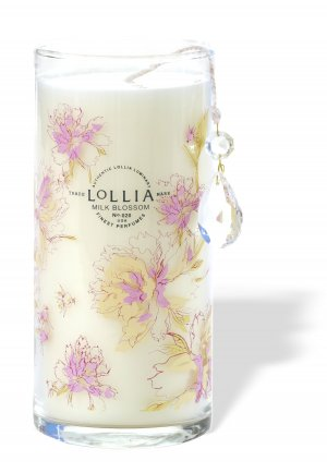 LOLLIA Breathe Milk Blossom Tall Perfumed Luminary