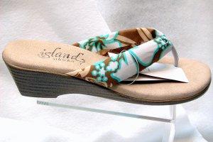 Island Slipper Women's T383 Sandal - TROPICAL BROWN
