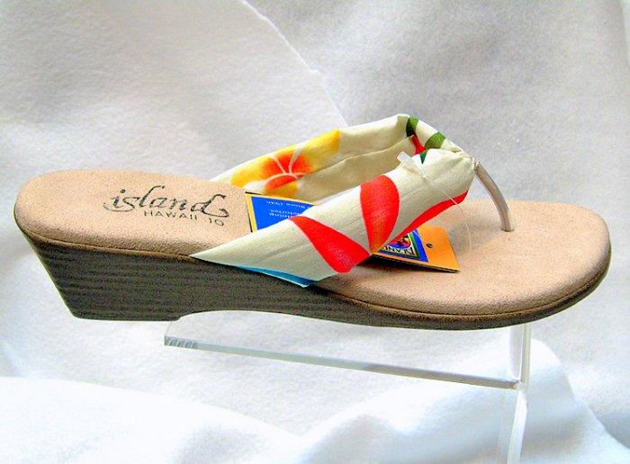 Island Slipper Women's T383 Sandal - TROPICAL NATURAL