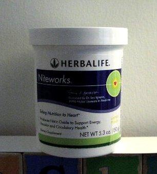 Herbalife Niteworks Cardio Supplement Lemon 150g 5.3oz 2011