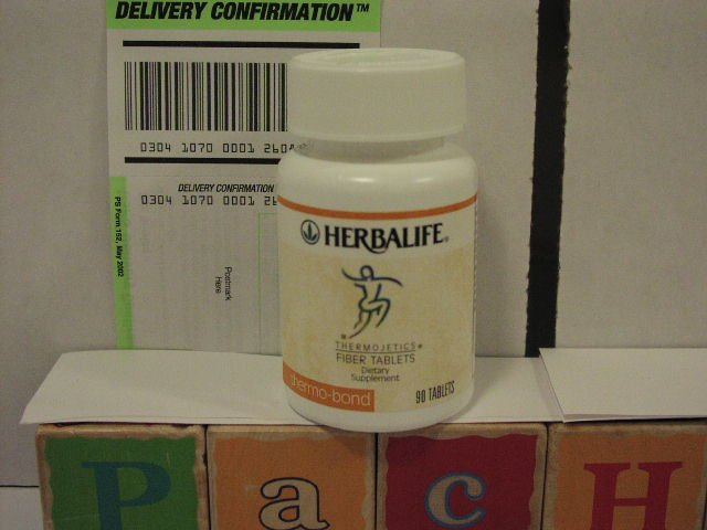 Herbalife Thermo-bond thermobond Thermojetics Fiber Tablets 2003