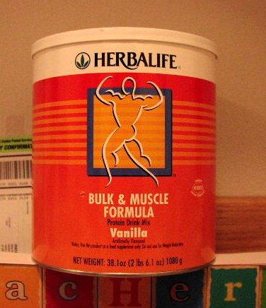 Herbalife Bulk & Muscle Formula Protein Vanilla 2005