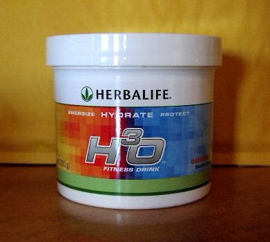 Herbalife H3O H30 Fitness Energy Drink 300g Orangeade Fresh