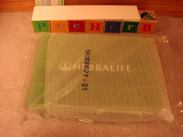 Herbalife Pill Tablet Box Container Dispenser jumbo