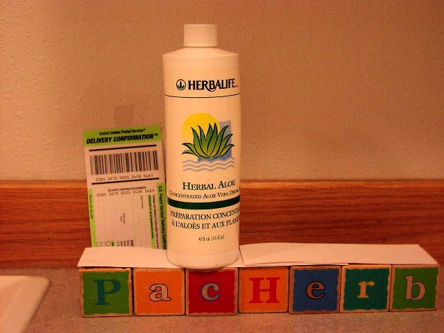 Herbalife Herbal Aloe Concentrate Pint 16oz 2006 x 9