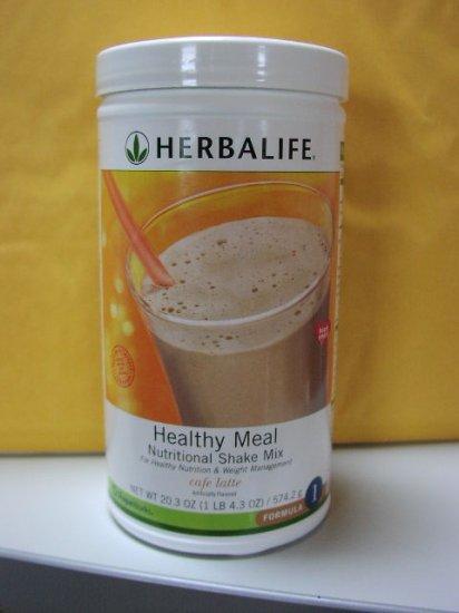 Herbalife F1 Nutritional Shake Mix Cafe Latte 574g Formula 1 Healthy Meal ShapeWorks Fresh