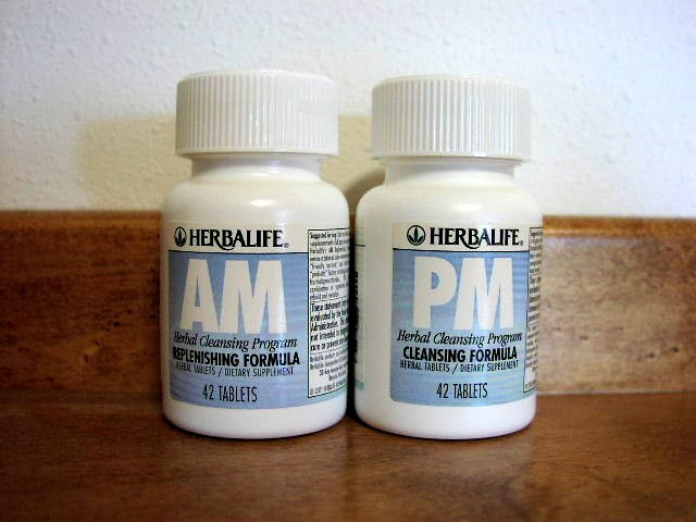 Herbalife 21 Day Herbal Cleansing Program AM/PM 2006