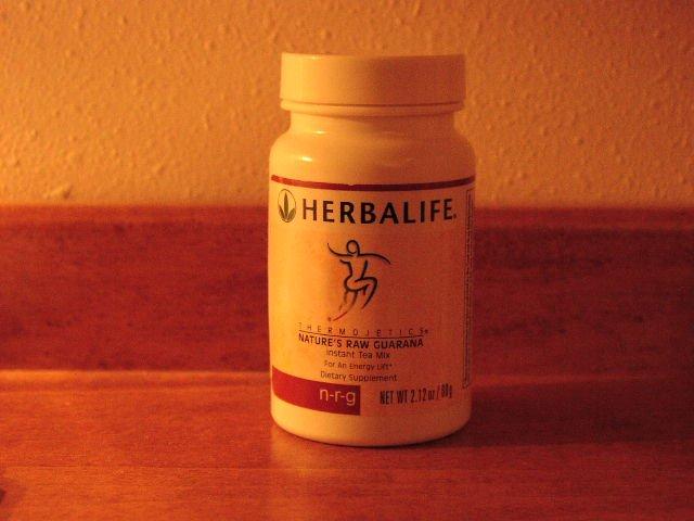 Herbalife NRG N-R-G Nature's Raw Guarana Tea 2006
