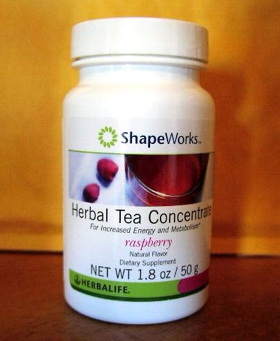 Herbalife Herbal Tea Concentrate 1.8oz 50g Raspberry ShapeWorks 2011