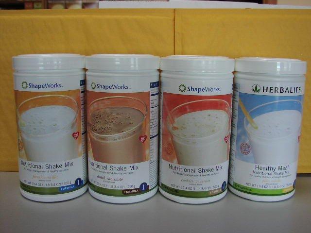 Herbalife F1 Nutritional Shake Mix 4-pack Combo VCNP 550g Formula 1 ShapeWorks