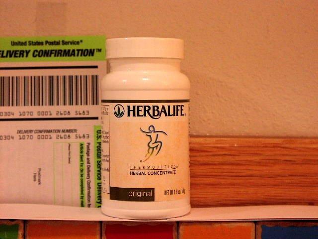 Herbalife Herbal Tea Concentrate 1.8oz 50g Original Thermojetics 2001
